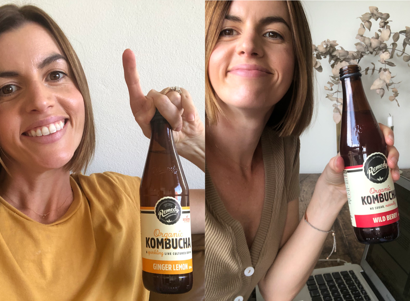 Mel Sheddon with Remedy Kombucha