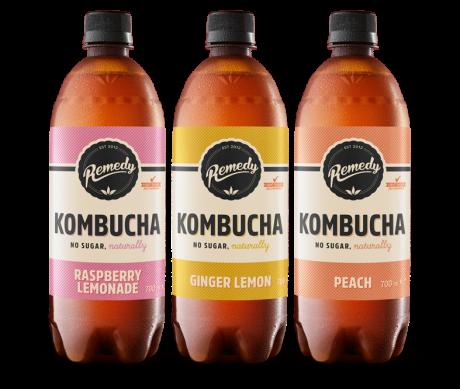 6 x Remedy Kombucha - Mixed Case - 700ml
