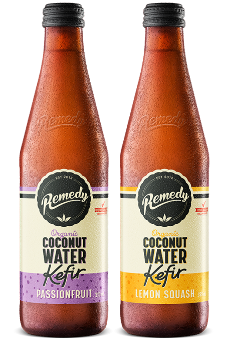 Remedy Coconut Water Kefir - Mixed Case 330ml Bottles