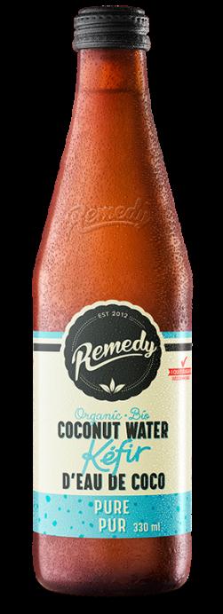 Remedy Coconut Water Kefir - Pure 330ml Bottle