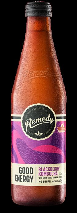 Remedy Good Energy - Blackberry 330ml Glass Bottle
