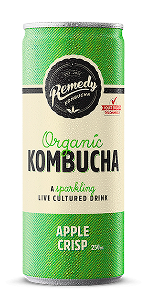 Remedy Kombucha - Apple Crisp Can