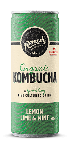 Remedy Kombucha - Lemon, Lime & Mint Can