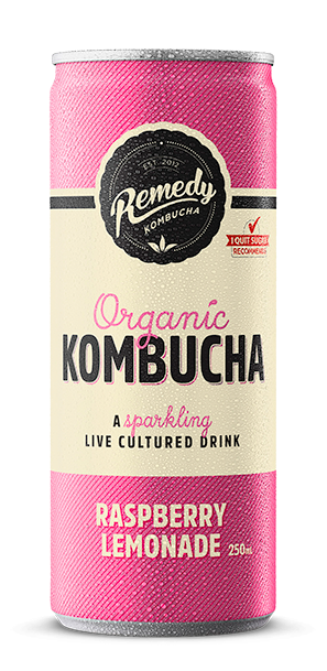 Remedy Kombucha - Raspberry Lemonade Can
