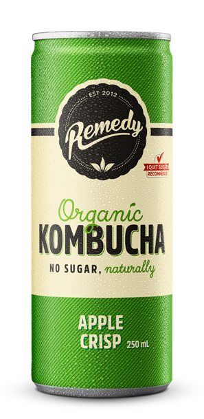 Remedy Kombucha Apple Crisp Can
