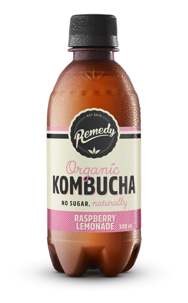 Remedy Kombucha - Raspberry Lemonade 300ml Bottles