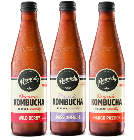 12 x Remedy Kombucha Summer Pack - 330ml bottles