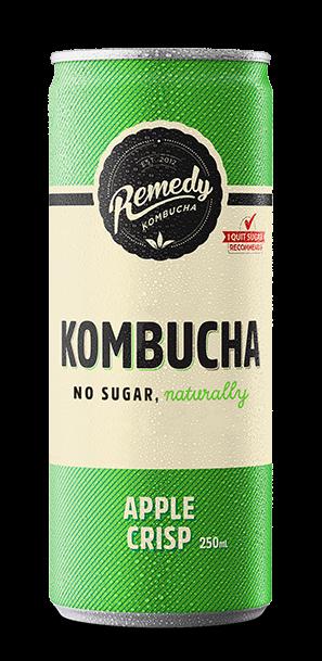 Remedy Kombucha - Apple Crisp Can