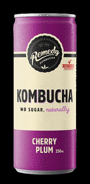 Remedy Kombucha - Cherry Plum Can
