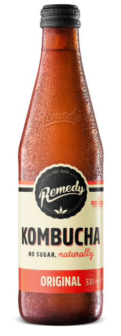 Remedy Kombucha - Original 330ml Glass Bottle