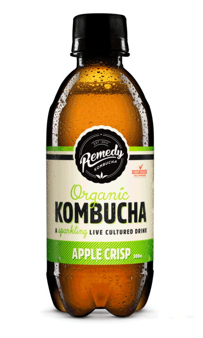 Remedy Kombucha - Apple Crisp 300ml Bottle