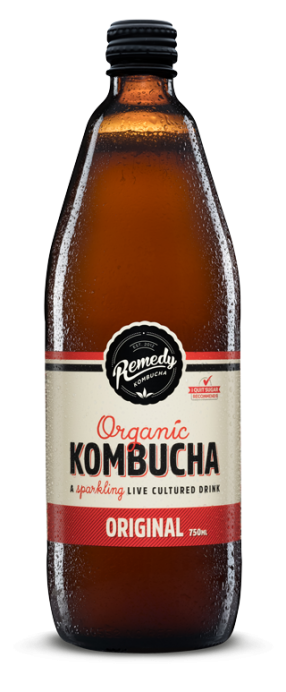 Remedy Kombucha - Original 750ml Bottle