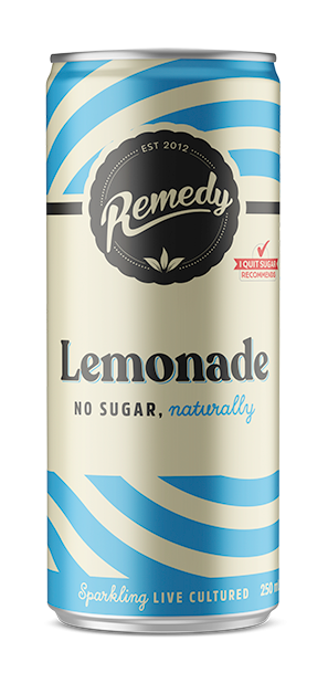 Remedy Soda - Lemonade Can