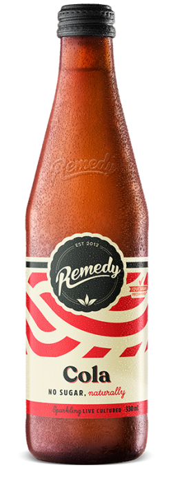 Remedy Soda- Cola-  330ml Bottle