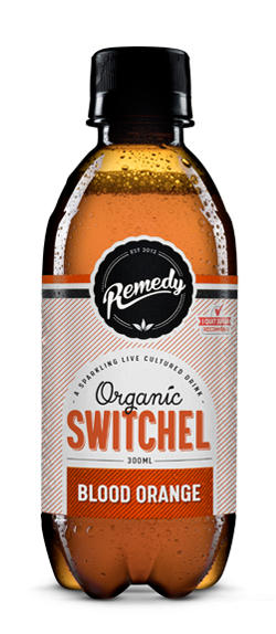 Remedy Switchel - Blood Orange 300ml Bottles