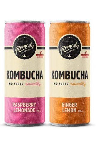 Remedy Kombucha Variety Pack - 12-Pack (8.5 Oz)