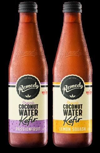 Remedy Coconut Water Kefir - Mixed Case 330ml Bottles