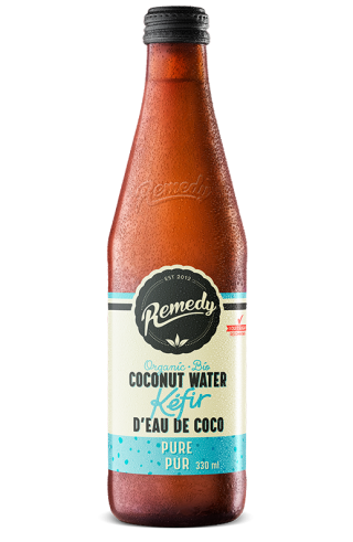 Remedy Coconut Water Kefir - Pure 330ml Bottle