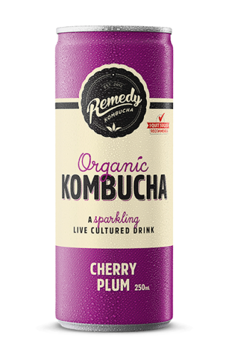 Remedy Kombucha - Cherry Plum Can