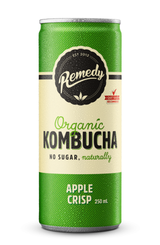 Remedy Kombucha - Apple Crisp Can 250ml