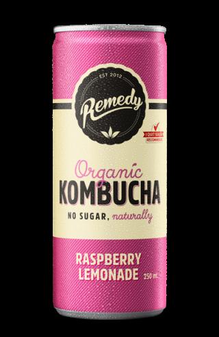 Remedy Kombucha - Raspberry Lemonade Can