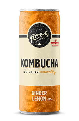 Remedy Kombucha - Ginger Lemon Can