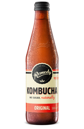 Remedy Kombucha - Original 330ml Glass Bottle