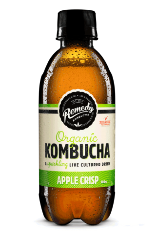 Remedy Kombucha - Apple Crisp 300ml Bottle