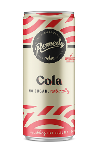 24 X Remedy Soda - Cola - 250ml Cans