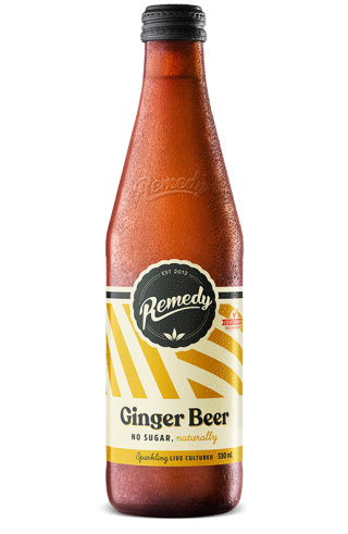 Remedy Soda Ginger Beer 330ml Glass Bottle