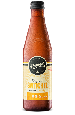 Remedy Switchel - Tropical 330ml Bottle