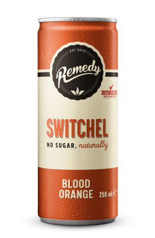 Remedy Switchel - Blood Orange Can