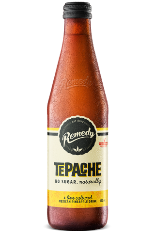 Remedy Tepache 330ml Glass Bottles