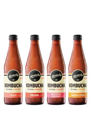 12 x Remedy Kombucha - Mixed Case - 330ml Bottles