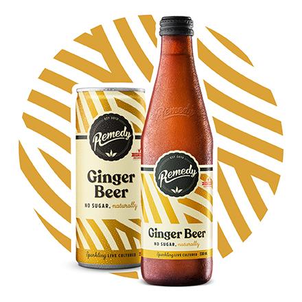 SHOP GINGER BEER