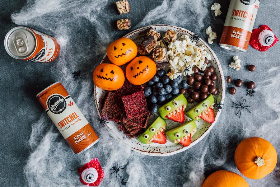 Remedy Switchel Blood Orange Halloween