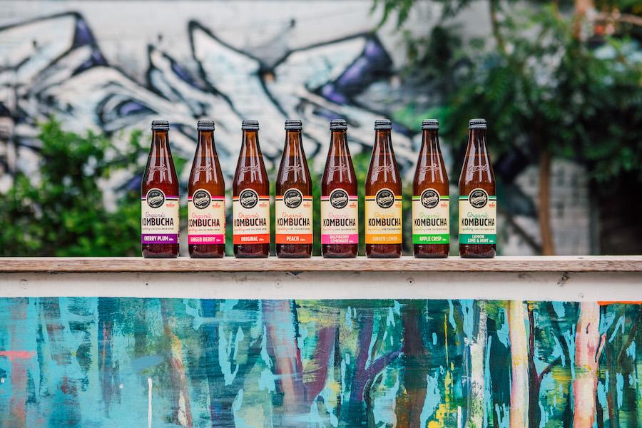 Remedy Kombucha flavour lineup