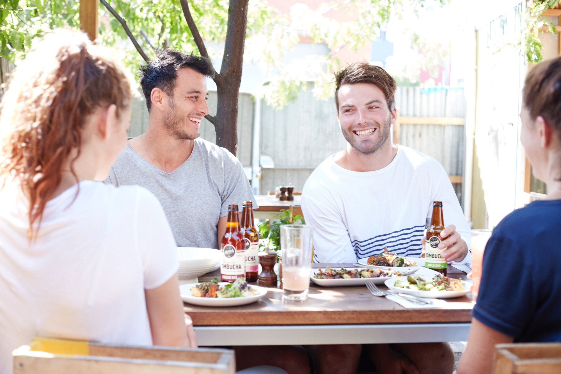 NMFC AFL stars love a Remedy Kombucha