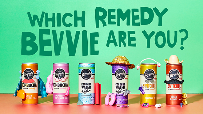 Which Remedy Live Cultured Bevvie Are You?