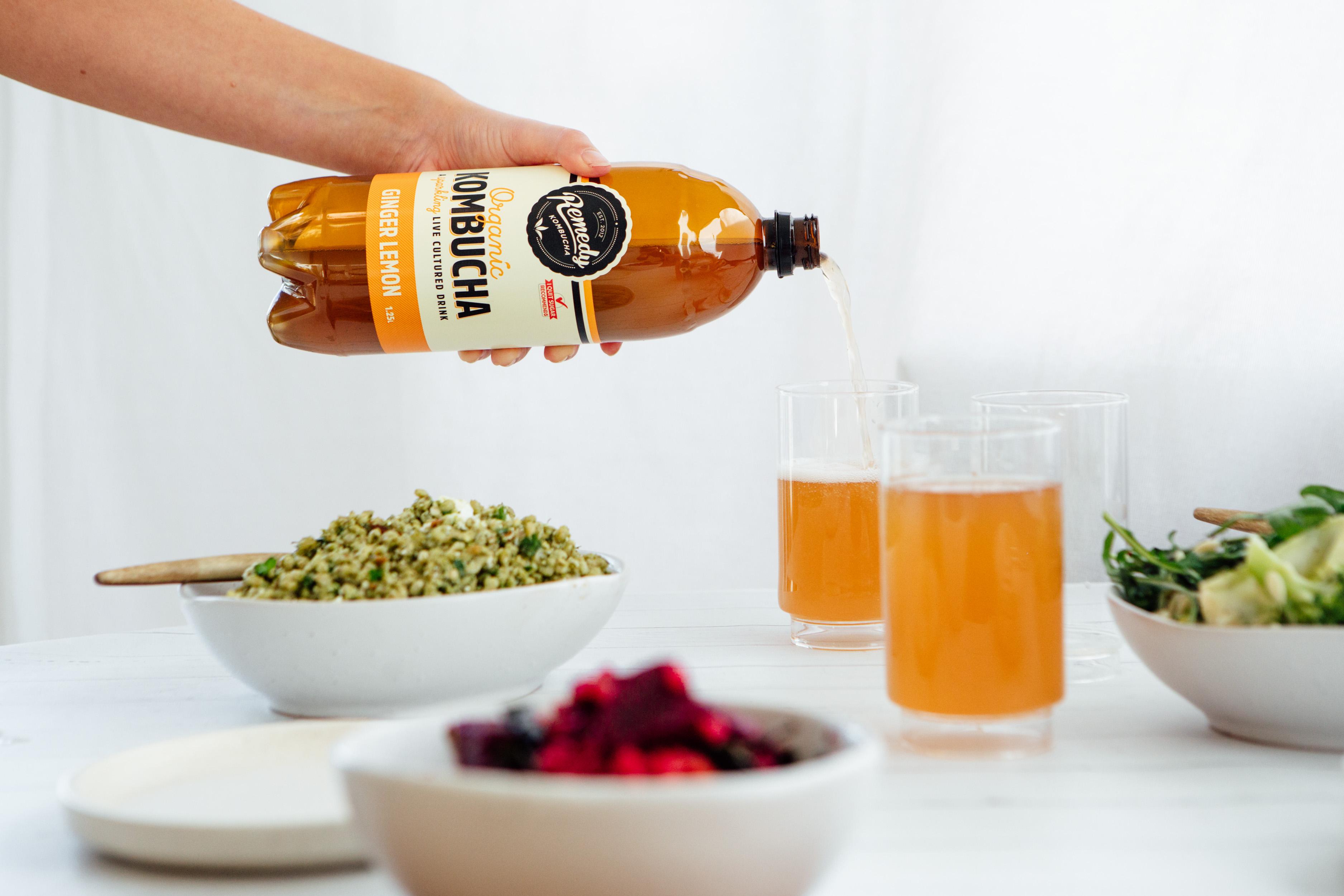 Remedy Kombucha Ginger Lemon 1.25L