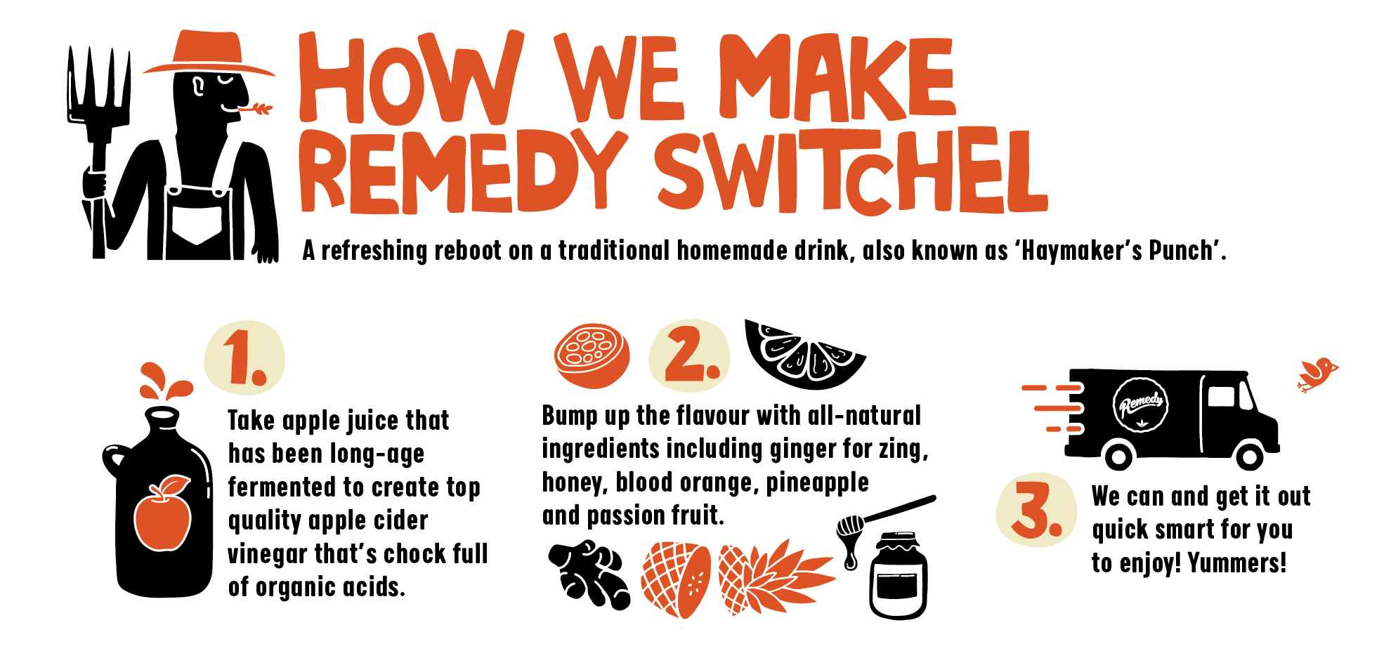 Remedy Switchel | How We Brew Our Switchel